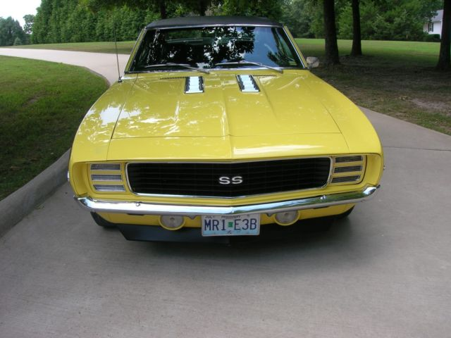 1969 Camaro Rs Ss 396 X22 Norwood Original 396 350 Hp