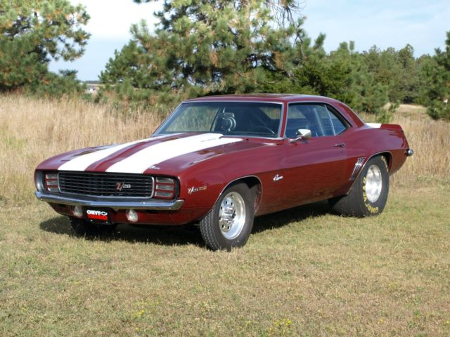 1969 Camaro Z28 Pro Street Drag For Sale Chevrolet