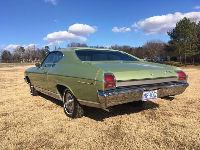1969 Chevrolet Chevelle Malibu For Sale: 1969 Chevelle Malibu With Only 38,683 Original Miles! This