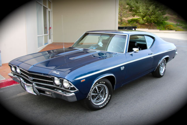 1969 Chevelle Ss396 4 Speed Matching S Factory Build