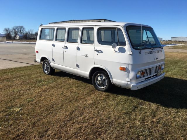 1969 Chevrolet 108 Van With 307 V 8 And Manual Transmission For Sale Chevrolet Other 1969 For