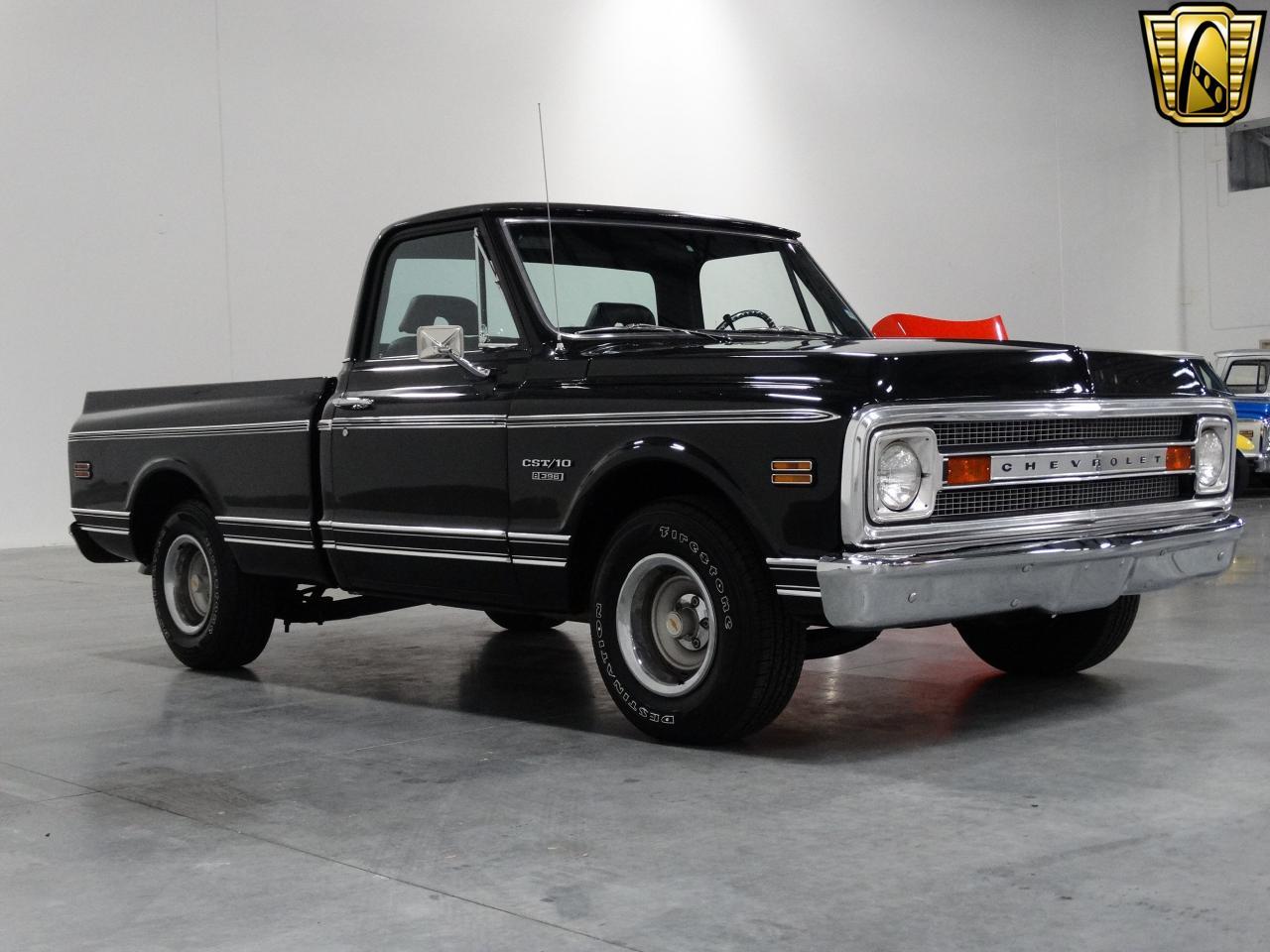 1969 chevrolet c10 461 miles black truck 396 cid v8 3 for Chevy v8 motors for sale