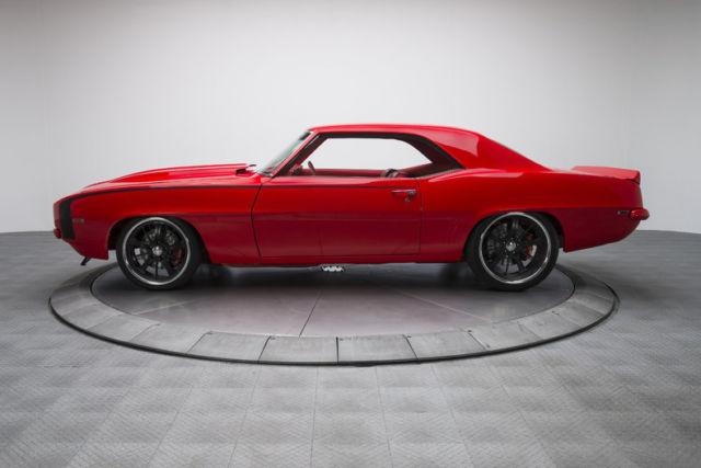 1969 chevrolet camaro 167 miles hip hop red hardtop 502 v8 5 speed manual for sale chevrolet. Black Bedroom Furniture Sets. Home Design Ideas