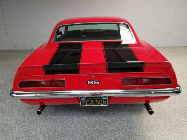 1969 Chevrolet Camaro Ss 350 4 Speed 100 Rust Free