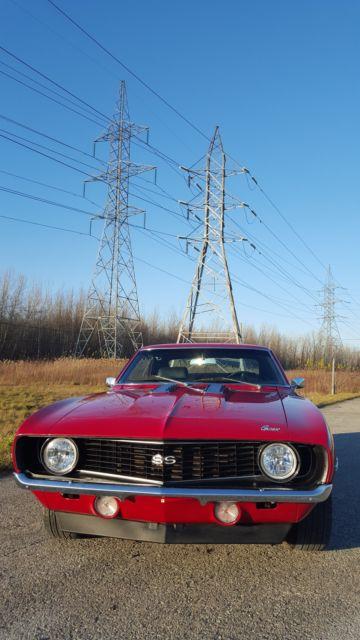 1969 Chevrolet Camaro Ss Red For Sale Chevrolet Camaro
