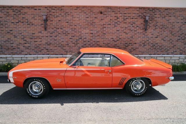 1969 Chevrolet Camaro Ss X22 Super Sport Big Block