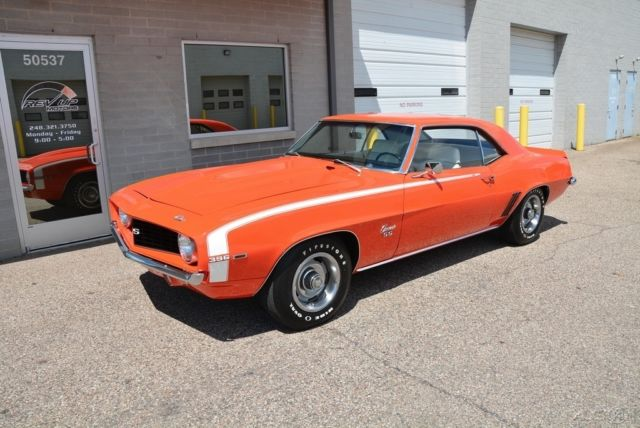 1969 Chevrolet Camaro Ss X22 Super Sport Big Block