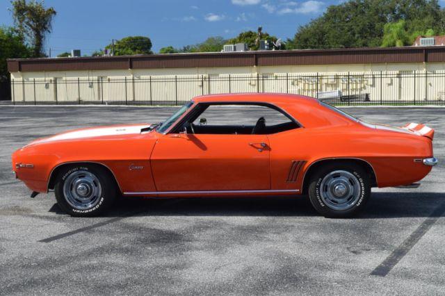 1969 Z28 Camaro Hugger Orange For Sale Upcomingcarshq Com