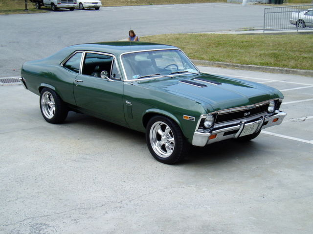 1969 Chevrolet Nova Ss 427 Tri Power 4 Speed 12 Bolt
