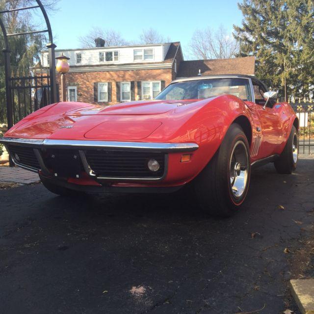 1969 Corvette 350/350 4 Speed For Sale