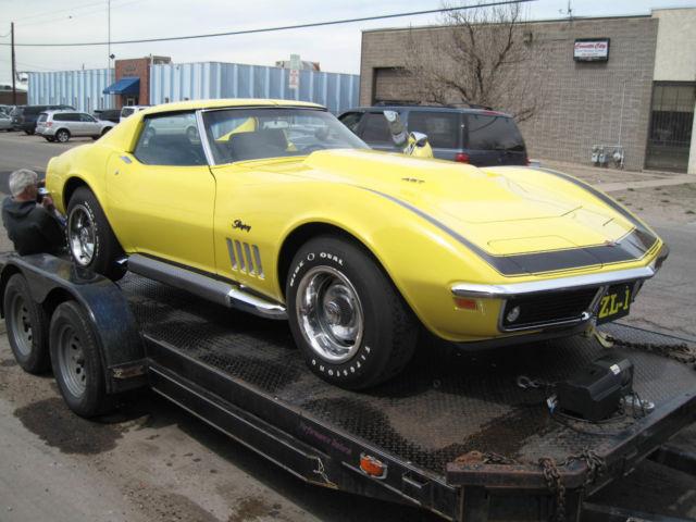 1969 Corvette Coupe Zl1 Clone Correct Dated Block For
