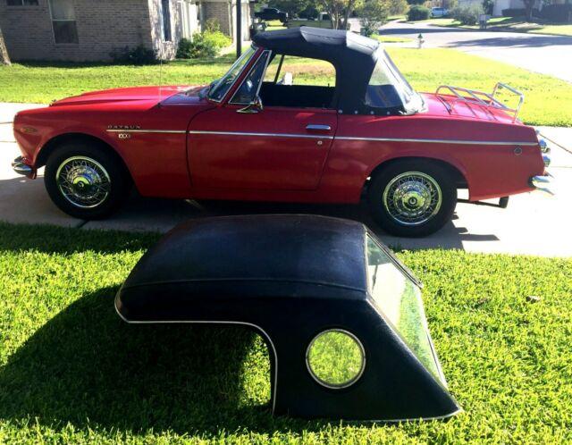 1969 Datsun 1600 Roadster Convertible Clic Restored ... on