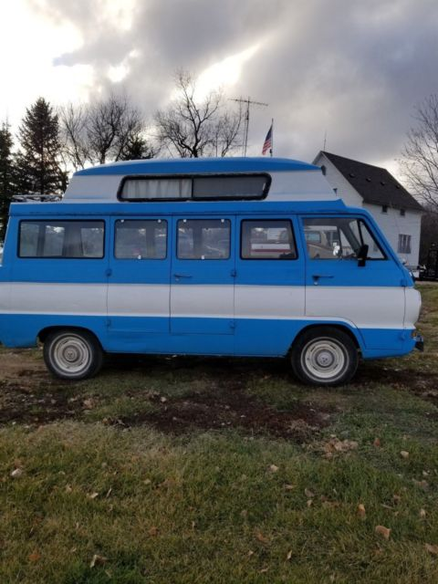 27a5035dab 1969 DODGE A-108 FAMILY WAGON BY TRAVCO for sale - Dodge A108 Van CAMPER VAN  1969 for sale in Fairdale
