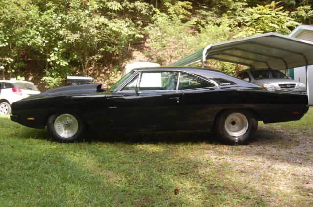 1969 Dodge Charger Pro Street Drag Race Show Car Blown 440 For