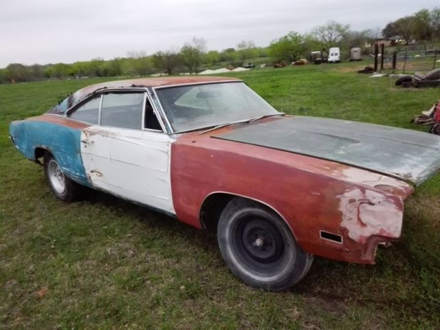 Dodge San Antonio >> 1969 Dodge Charger RARE FACTORY 4 SPEED 383 MAGNUM H CODE ! General Lee Project for sale - Dodge ...