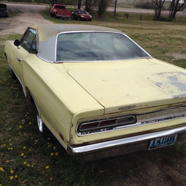 """1969 Dodge Coronet"" NO RESERVE For Sale"