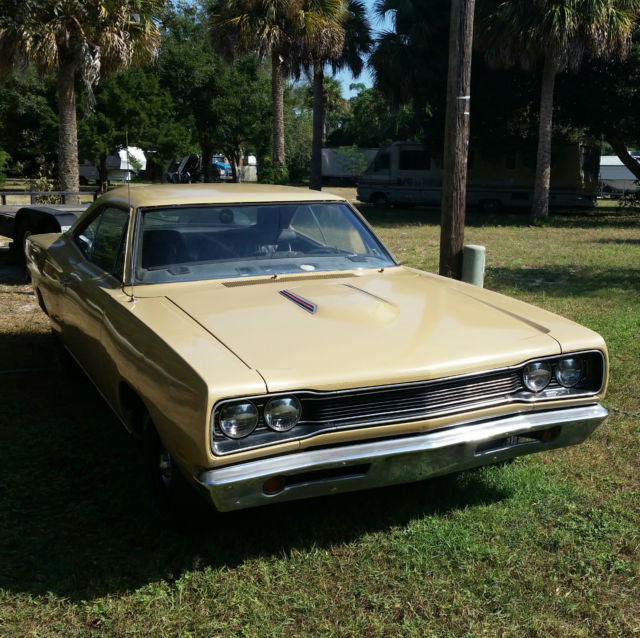 1969 Dodge Coronet R/T 440 Matching Numbers RT 69 Stick