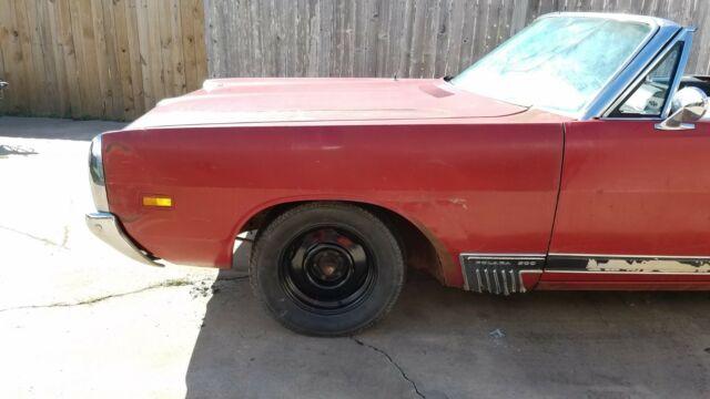 1969 Dodge Polara 500 Convertible 383 Barn Find No Reserve
