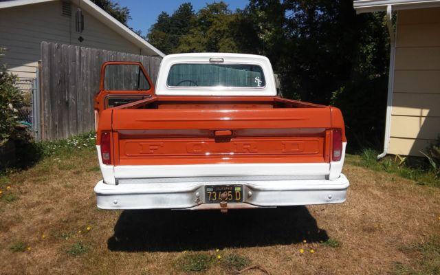 1969 ford f-100 ranger pickup truck for sale