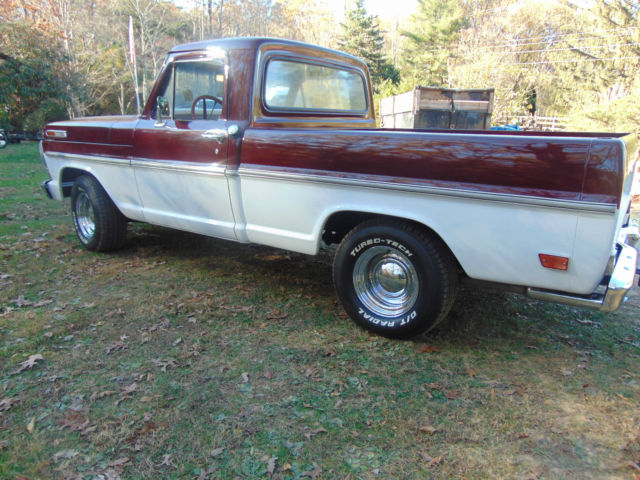 1969 ford f-100 short bed truck  completely restored  no reserve for sale