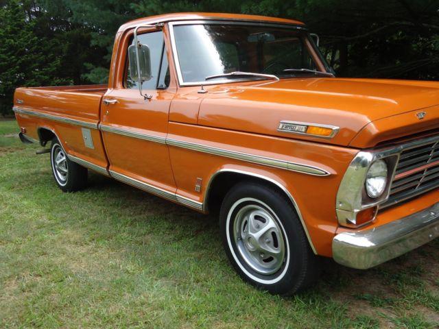 1969 ford f100 ranger pick up for sale