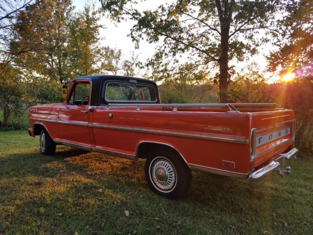 1969 ford f100 ranger unrestored survivor 360 auto p s p b for sale ford f 100 explorer. Black Bedroom Furniture Sets. Home Design Ideas