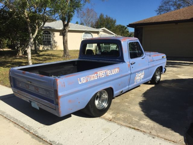 1969 ford f100 twin turbo shop truck for sale ford f 100. Black Bedroom Furniture Sets. Home Design Ideas