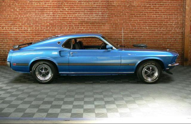 1969 Ford Mustang 428 Super Cobra Jet Drag Pack for sale