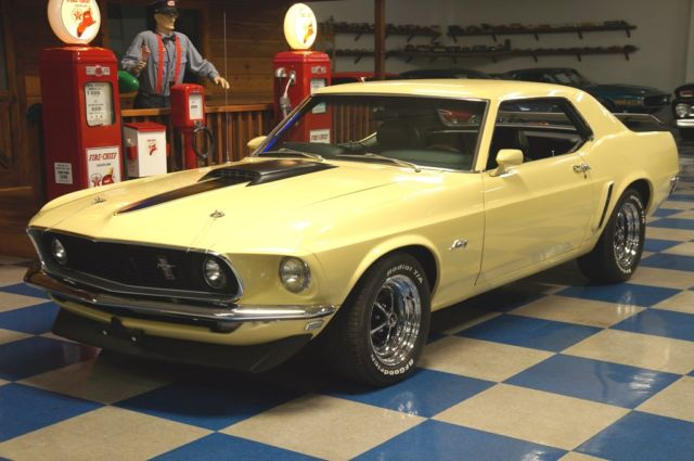 1969 Ford Mustang Coupe Tremec 5 Speed For Sale Ford