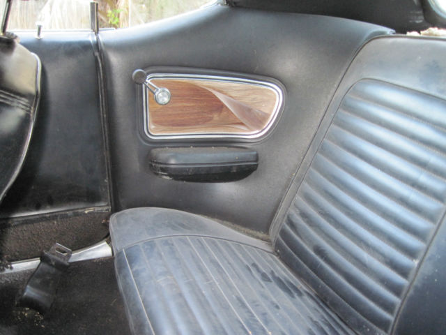 1969 ford mustang grande 302 mach 1 style wood grain interior original paint for sale ford. Black Bedroom Furniture Sets. Home Design Ideas