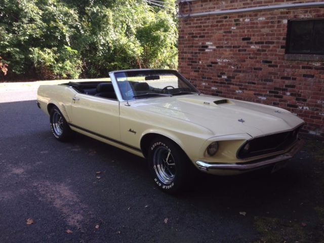 1969 Ford Mustang Gt Convertible For Sale Ford Mustang