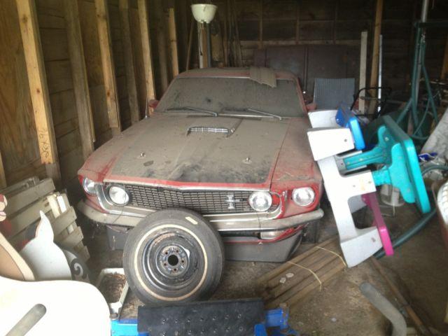 1969 ford mustang mach 1 351 v8 barn find project survivor no reserve for sale ford. Black Bedroom Furniture Sets. Home Design Ideas