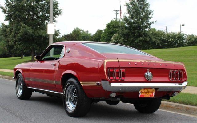 1969 Ford Mustang Mach 1 Mach 1 Flemings Ultimate Garage
