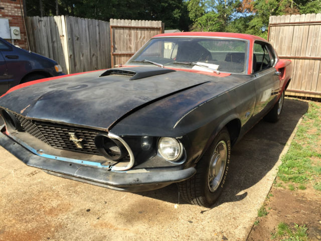 1969 Ford Mustang Mach 1, S-Code 390 with 4-Speed Manual