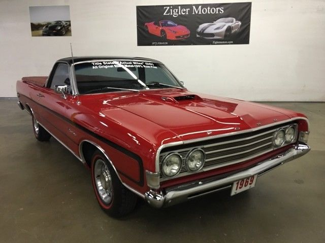 1969 Ford Ranchero 302 V8 engine 54k actual miles,clean 54k