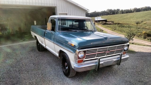 1969 ford truck f 100 solid body great patina for sale. Black Bedroom Furniture Sets. Home Design Ideas