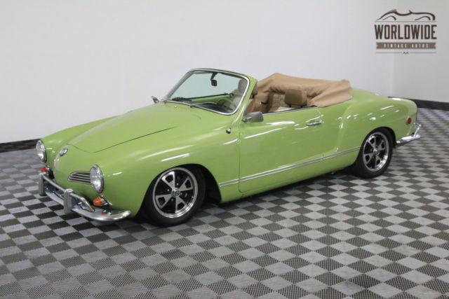 1969 Green REBUILT 1600 CC ENGINE ORIGINAL DASH! for sale