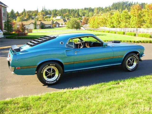 1969 Ford Mustang Mach 1 428 Cobra Jet For Sale >> 1969 Gulfstream Aqua Mach 1. 427 CobraJet buildup. 5 speed. 9 inch rear. LOADED! for sale - Ford ...