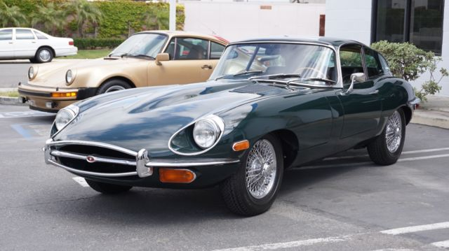 1969 jaguar e type coupe restored for sale jaguar e type. Black Bedroom Furniture Sets. Home Design Ideas