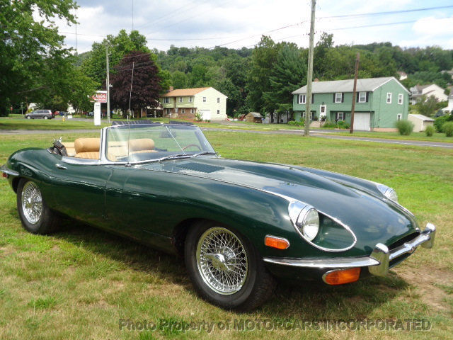 1969 jaguar e type xke convertible roadster ots british. Black Bedroom Furniture Sets. Home Design Ideas