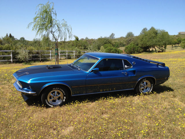 1969 mach 1 mustang m code shaker marti report for sale ford mustang mach 1 1969 for sale in. Black Bedroom Furniture Sets. Home Design Ideas