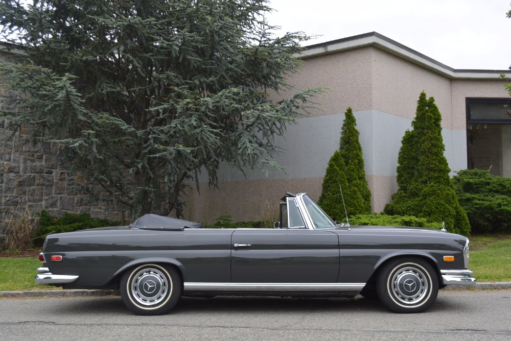 1969 mercedes benz 280se 0 grey cabriolet for sale for 1969 mercedes benz 280se