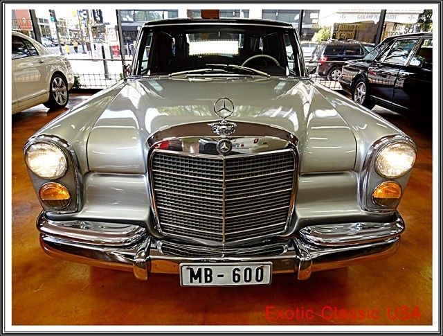1969 mercedes benz 600 swb only 2 677 built car in for Where mercedes benz cars are made