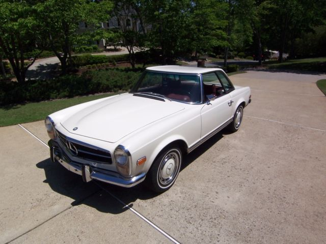 1969 mercedes sl only 2 owner for sale mercedes benz sl for Mercedes benz roswell