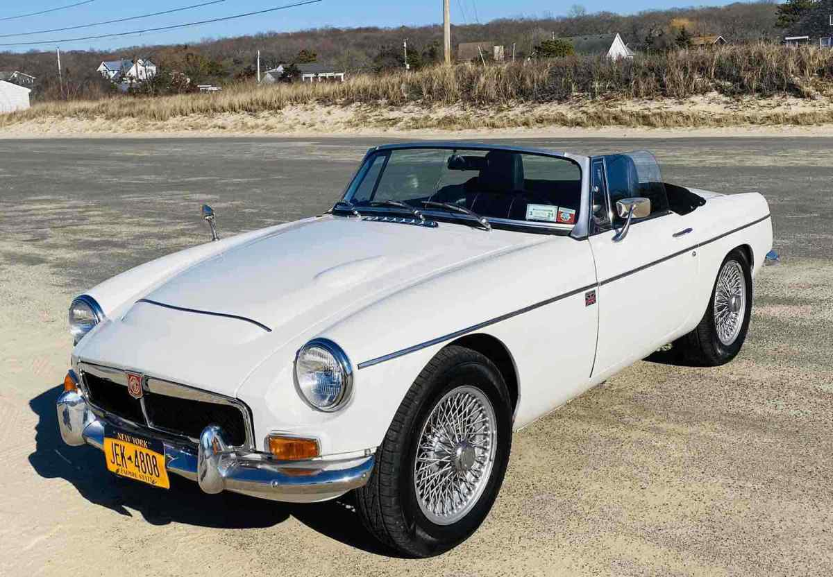 1969 Mg C Roadster Convertible White Rwd Manual Roadster For Sale Mg C Roadster 1969 For Sale In Mattituck New York United States