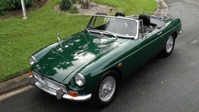 1969 mgb british sports car by leyland chrome bumper car both hard and soft tops for sale mg. Black Bedroom Furniture Sets. Home Design Ideas