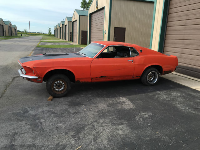 1969 mustang fastback project car for sale ford mustang sport roof 1969 for sale in de pere. Black Bedroom Furniture Sets. Home Design Ideas