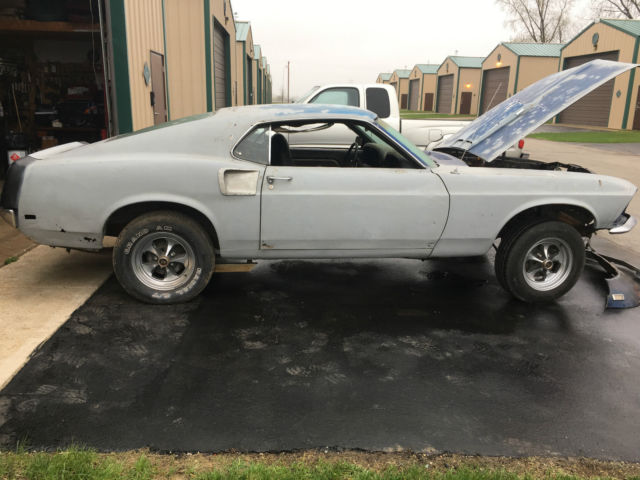 1969 mustang mach 1 project car for sale ford mustang 1969 for sale in de pere wisconsin. Black Bedroom Furniture Sets. Home Design Ideas