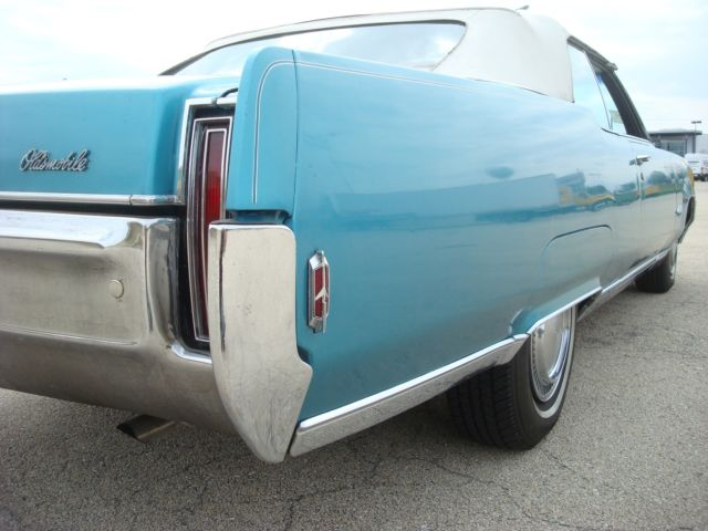 Oldsmobile Ninety Eight Convertible Original Car With Low Miles Clean