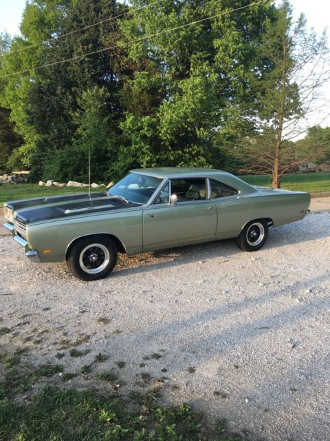 Cars Under $800 >> 1969 PLYMOUTH ROAD RUNNER 383, 4 SPEED, #'S ENGINE, TRANS ...
